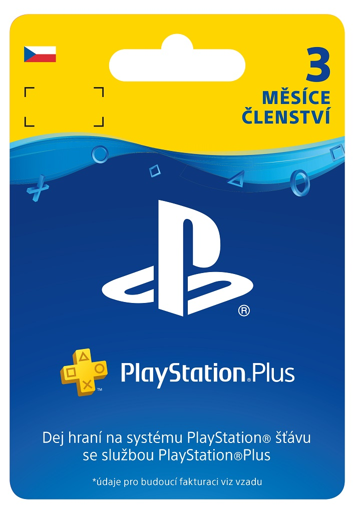 SONY PlayStation Plus - 90 dní