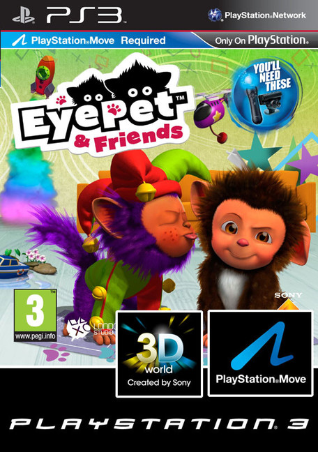 HRA PS3 EyePet & Friends
