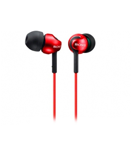 Sony MDR-EX110LPR hudební sluchátka, Red