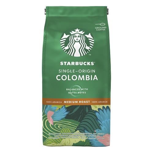 Mletá káva Starbucks Colombia 200 g