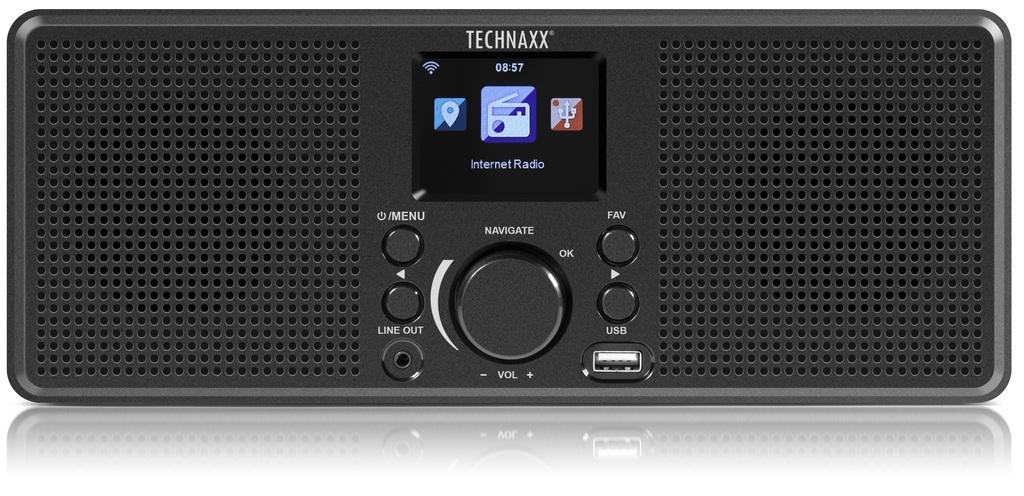 Technaxx Internetové rádio TX-153