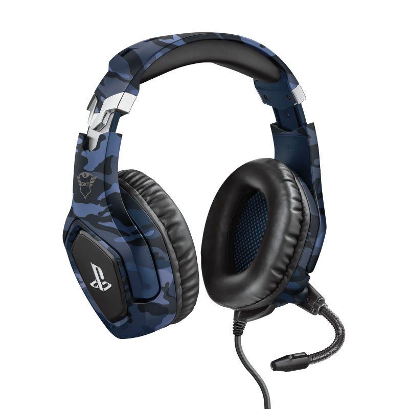 Trust Gxt 488 Forze Ps4 Gaming Headset Playstation modrá
