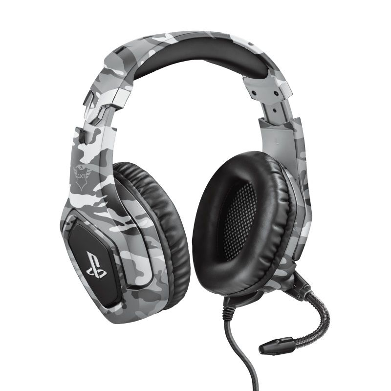 Trust Gxt 488 Forze Ps4 Gaming Headset Playstation šedá