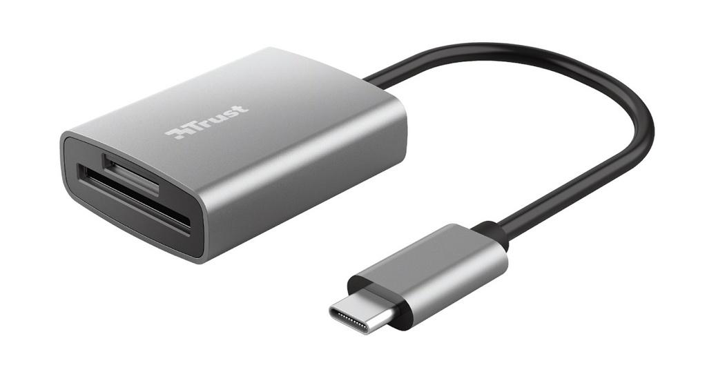 Trust Dalyx Fast USB-C čtečka karet 24136