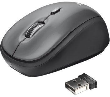 TRUST Yvi Wireless Mini Mouse - black - Trust Yvi Wireless Mouse 18519