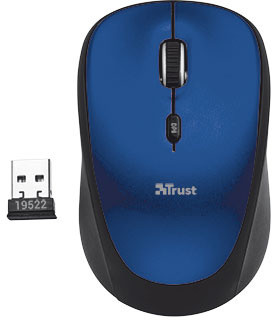 TRUST Yvi Wireless Mouse - blue - Trust Yvi Wireless Mouse 19663