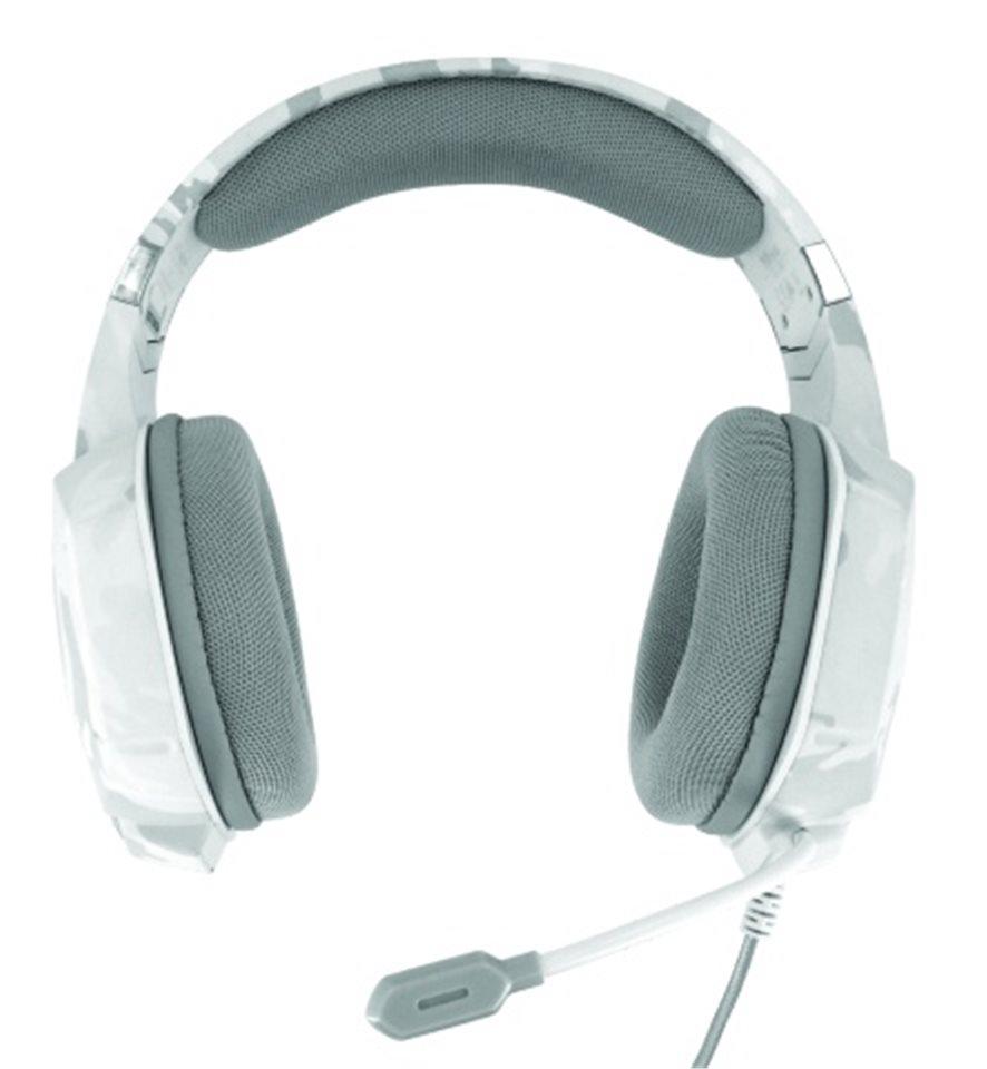 Trust GXT 322W Carus Gaming Headset bílá
