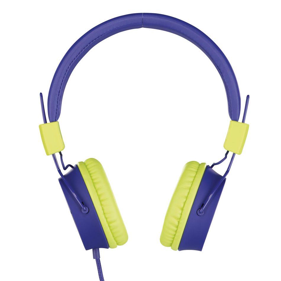 Thomson Hed8100b dětská sluchátka, modrá/zelená