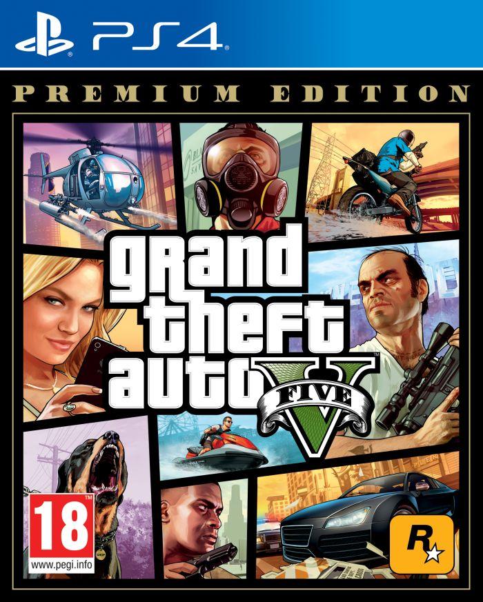 GTA V. PREMIUM EDITION (PS4)