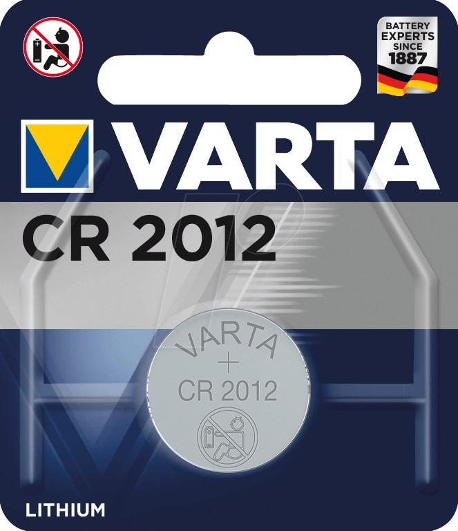 Baterie Varta electronic CR 2012