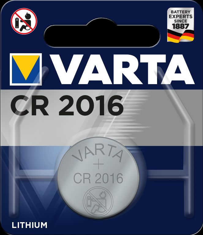 VARTA CR 2016 Electronics 6016112401