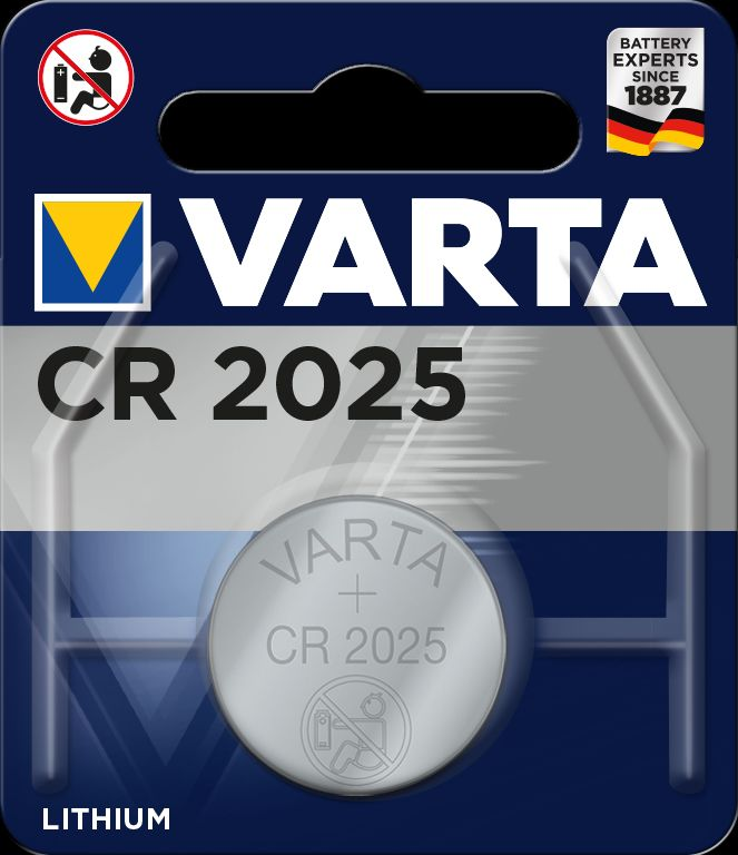 Varta Professional Electronics, CR2025 - Baterie Varta Electronics CR 2025 1ks