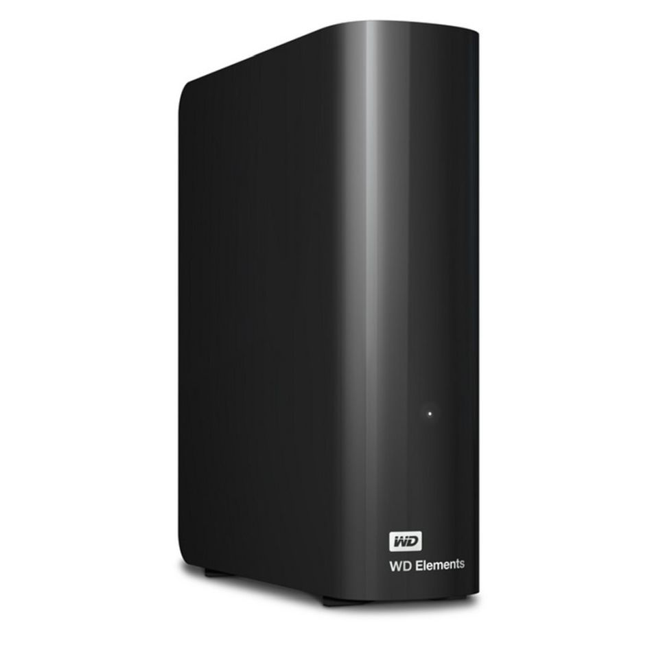 WD Elements Desktop 4TB Black - WD Elements 4TB, USB3.0, WDBWLG0040HBK