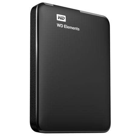 WD Elements Portable 500GB, black
