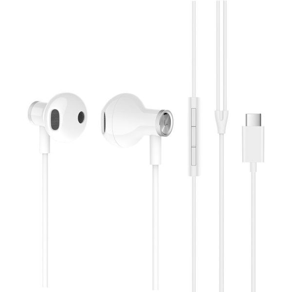 Xiaomi Mi Dual Driver Earphones, bílá (473430) - Xiaomi Mi Dual Driver Earphones Type-C