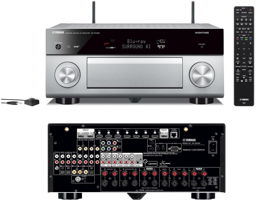 Yamaha Av receiver Rx-a2080 Titan