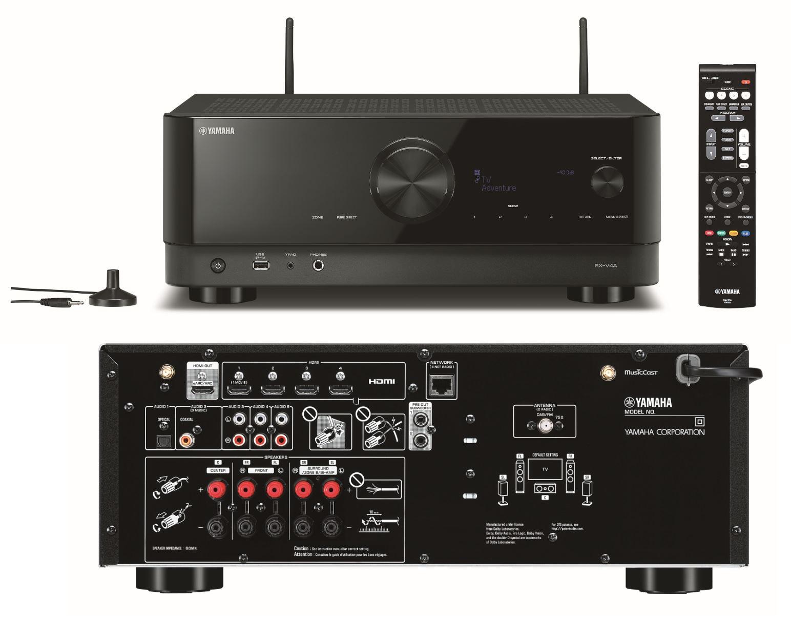 Yamaha Av receiver Rx-v4a