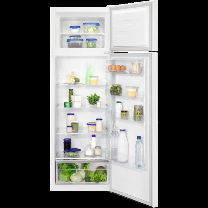 Zanussi lednice s mrazákem nahoře Ztan28fw0