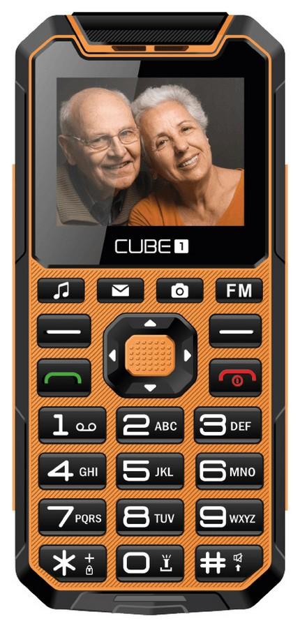 CUBE1 S400 Senior oranžová