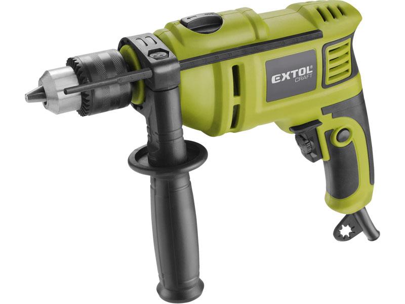 EXTOL CRAFT 401163 vrtačka s příklepem, 550W