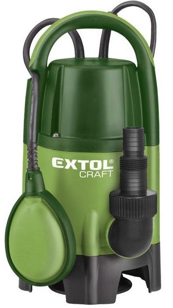 EXTOL CRAFT 414141 čerpadlo ponorné, 750W, 13000l/hod