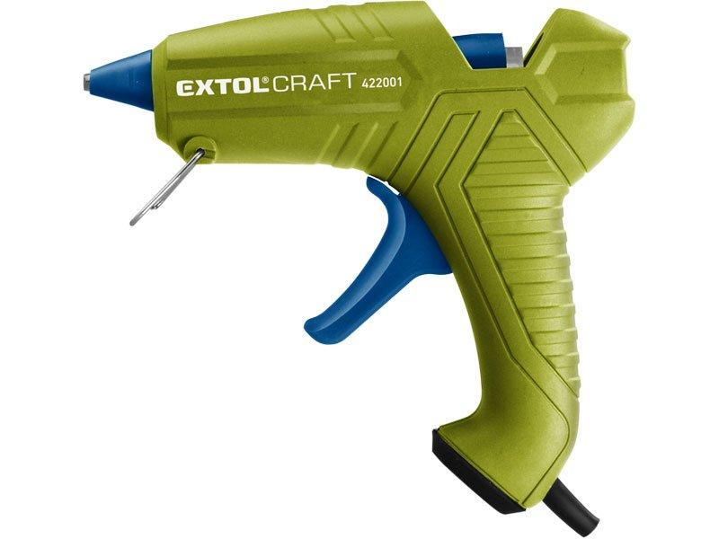 EXTOL CRAFT 422001 pistole tavná lepící, Ř11mm, 40W