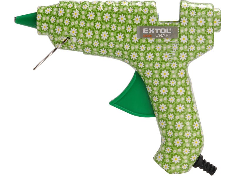 EXTOL CRAFT 422100 pistole tavná lepící, květinová, 40W