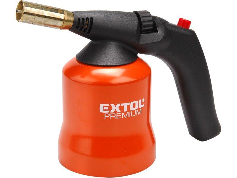 EXTOL PREMIUM 8848105 hořák s piezo zapalováním na propichovací kartuše