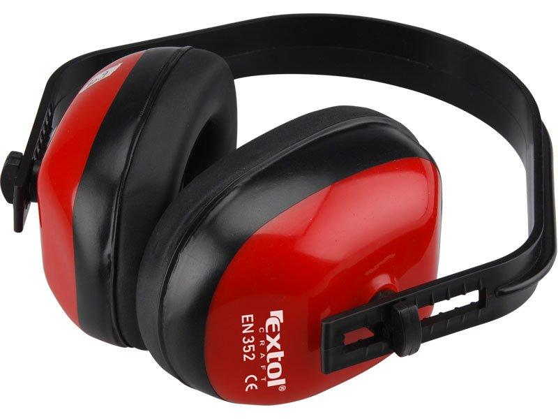 EXTOL CRAFT 97311 chrániče sluchu celoplastové, hmotnost 106g