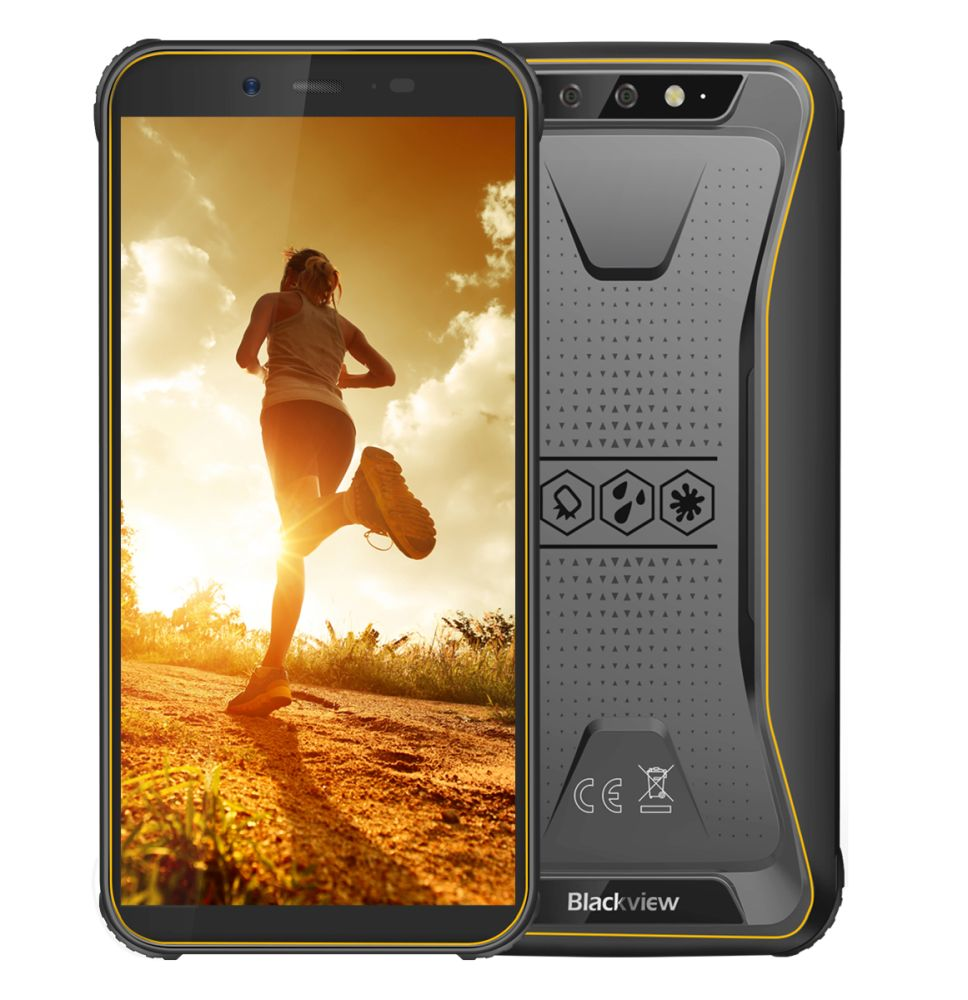 iGET Blackview GBV5500 Pro Yellow + DOPRAVA ZDARMA