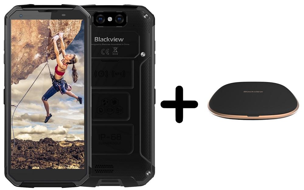iGET Blackview GBV9500 Plus, 4GB/64GB, černý