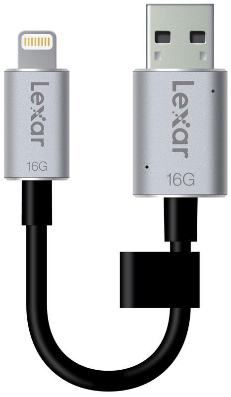 Lexar USB 16GB JumpDrive C20i iOS