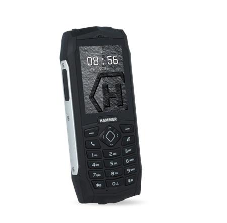 myPhone HAMMER 3 DualSIM stříbrný