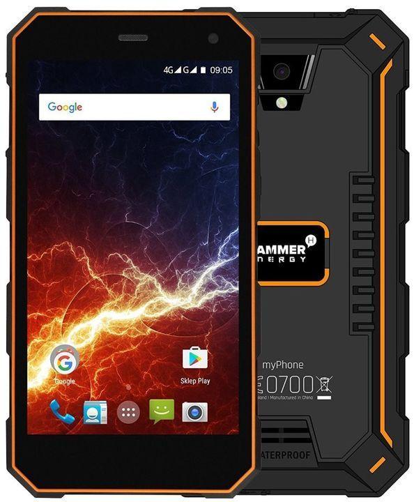myPhone Hammer Energy 18x9 LTE oranžový