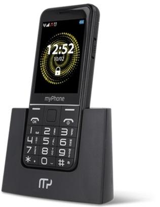 myPhone Halo Q Senior černá