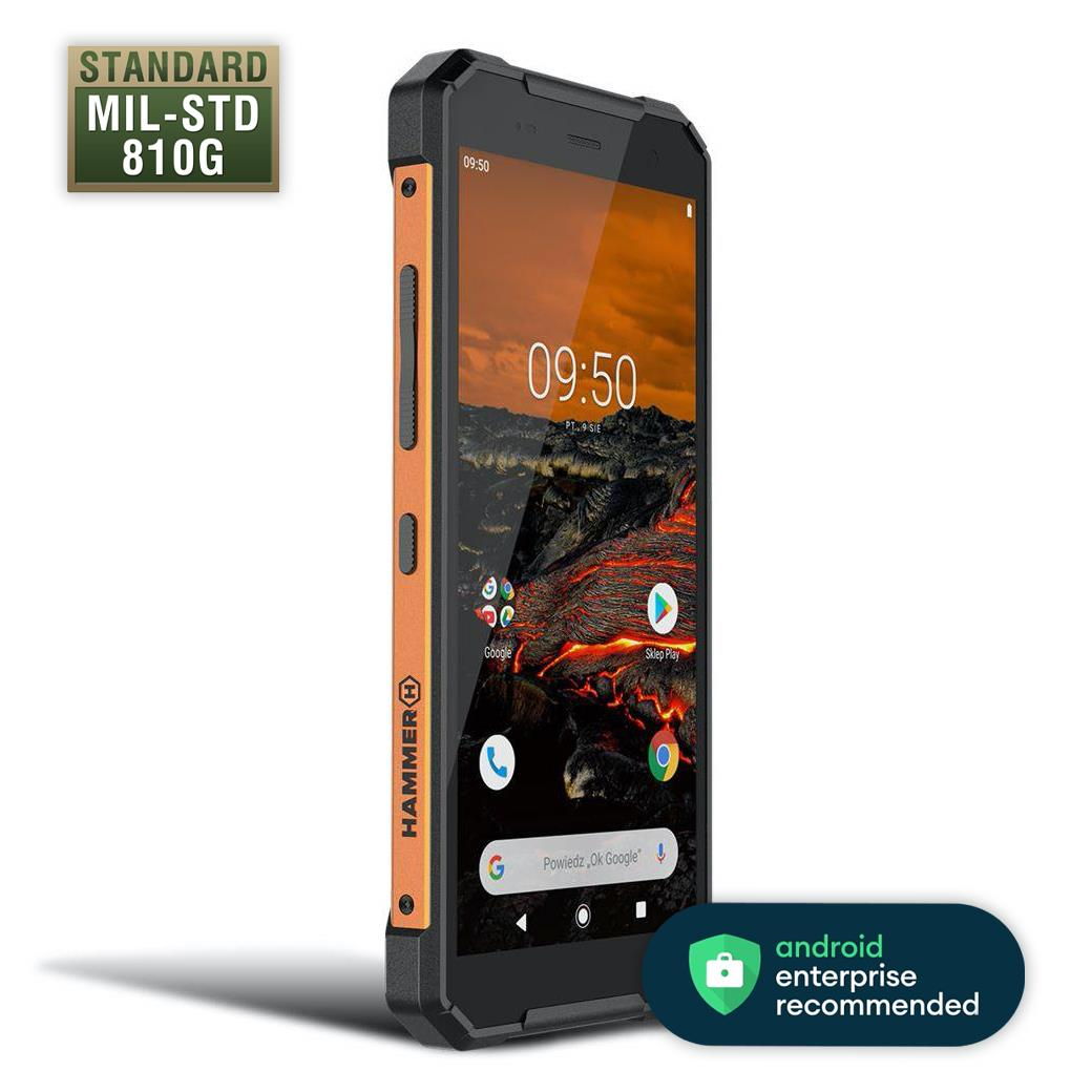 myPhone Hammer Explorer Dual SIM oranžový
