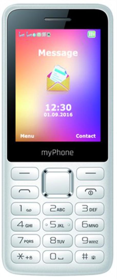 myPhone 6310 DUAL SIM BÍLÝ