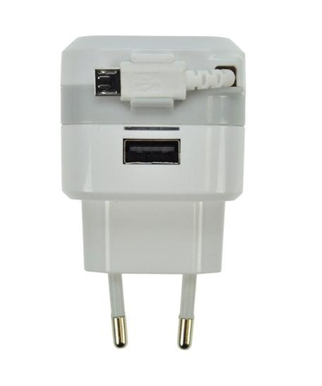 SOLIGHT DC39 USB adaptér, kabel, 2400mA - Nabíječka SOLIGHT DC39 - neoriginální