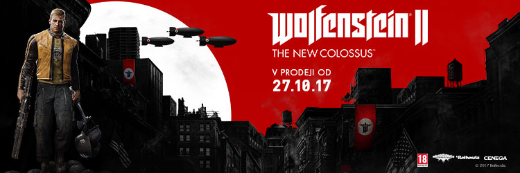 Novinka Wolfenstein II The New Colossus category